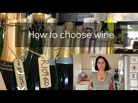 How to choose wine (in a shop)