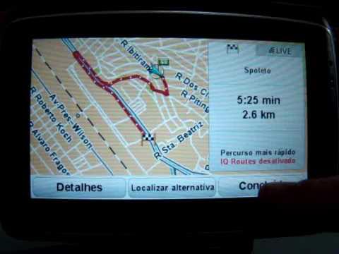 gps tomtom 740 live go brasil brazil reconhecimento de vozes youtube rh youtube com TomTom Customer Service manual do gps tomtom xl em portugues