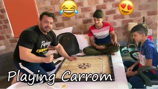 Flying Beast Playing Carrom with Sourav Joshi and Piyush Joshi 😂 | Funny Moments
