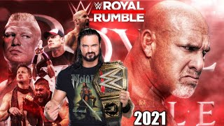 WWE Royal Rumble 2021 Date, Time, Location, Match Cards & Predictions