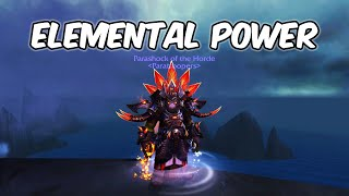 Elemental Power - Elemental Shaman PvP - WoW BFA 8.1.5