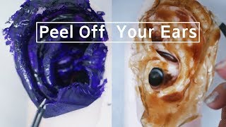 ASMR Peel Off Your Ears | 필오프팩 (no talking) | Suzevi