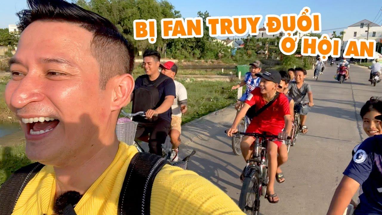 Gia Đình Huy Khánh BỊ FAN RƯỢT Tại HỘI AN | Huy Khánh Vê Lốc