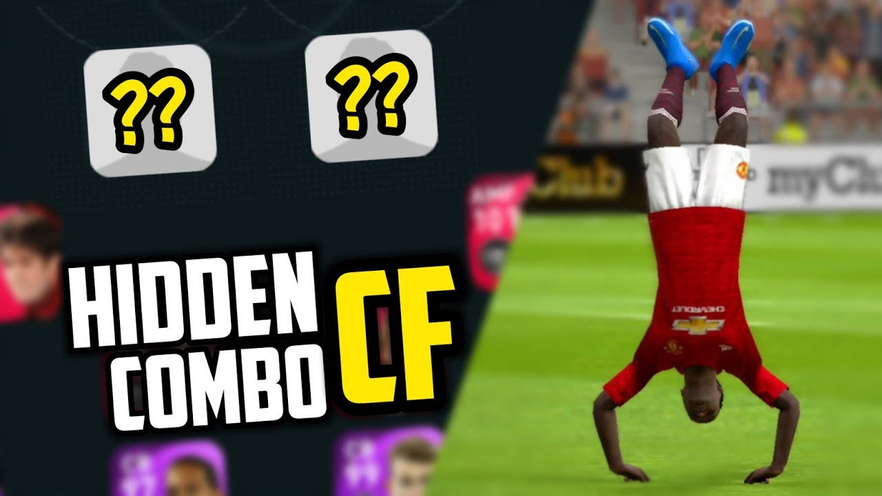 Hidden CF Combo 🔥 One Of The Deadliest Attacking Duo In Pes 2021 Mobile
