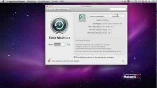 Time-Machine-Backups ohne Systemdateien