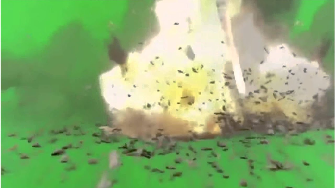 Lluvia De Misiles ♦ Efecto De Pantalla Verde HD