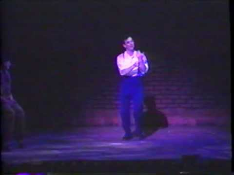 Patrick Boyd as Tulsa in GYPSY- ALL I NEED IS THE GIRL