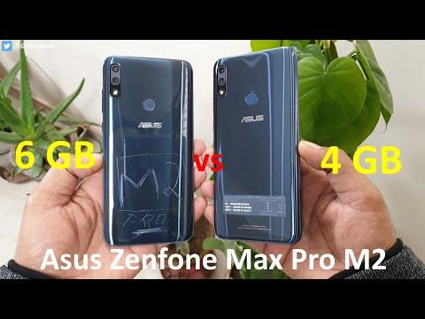 [Hindi] Asus Zenfone Max Pro M2 6GB vs 4GB RAM Speed Test