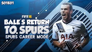 New series! bale's return to spurs!! fifa 16: spurs career mode - the welsh wizard returns!! - #1