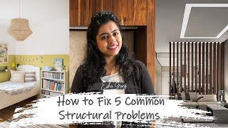 How to Fix 5 Common Structural Problems | Fix it Beautifully – Ep  1