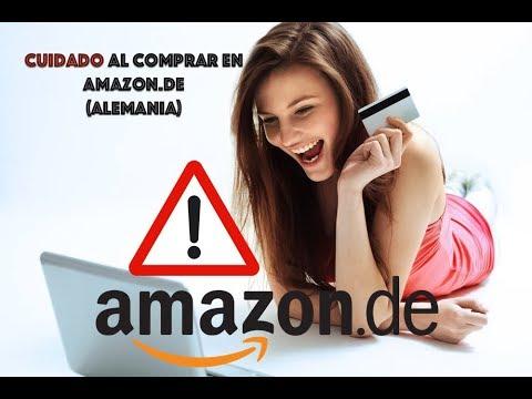 Cuidado al comprar en Amazon.de o cualquier tienda de Amazon que no sea de donde vives