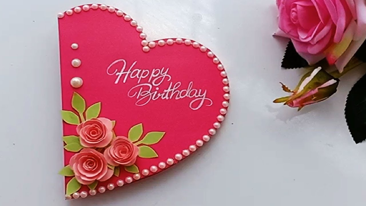 How To Make Special Birthday Card For Best Friend Diy Gift Idea Youtube