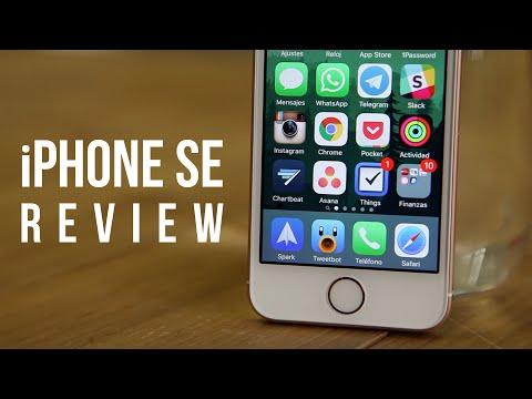 Review iPhone SE, análisis en español
