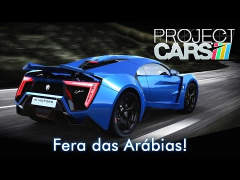 Fera das Arábias! Lykan HyperSport | Project CARS + G25 [PT-BR]