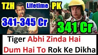 Tiger Zinda Hai Will Beat PK Lifetime Collection I Detail Analysis