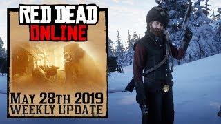 Red Dead Redemption 2 Online Update - Raccoon Hat & Hunting Freeroam Event