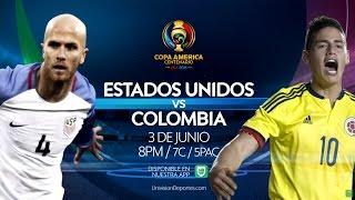 Copa America Centenario: Estados Unidos vs Colombia