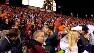 Virginia Tech Enter Sandman Entrance