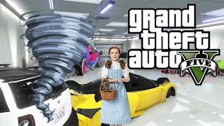 GTA 5 Crazy Garage Tornado Glitch And Funny Moments With The Crew!