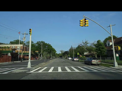 Driving from Cambria Heights to Rosedale in Queens,New York