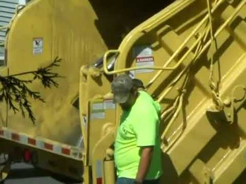 Garbage Truck Packing 8-6-2012