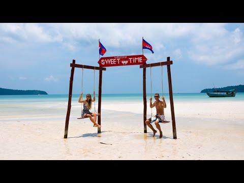 Traumstrand in Kambodscha - Koh Rong Samloem - Weltreise   VLOG #216