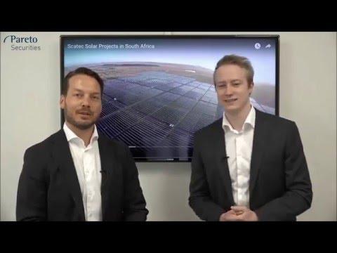 Scatec Solar med Fredrik Steinslien