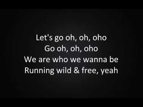 Lena Meyer Landrut - Wild & Free Lyrics