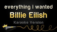 Billie Eilish - everything i wanted (Karaoke Version)