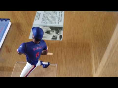 1990 KENNER STARTING LINEUP Prototype Review Andre Dawson Chicago Cubs