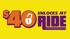 $40 Unlocks My Ride | Locksmith Greensboro NC  | 336-447-3853