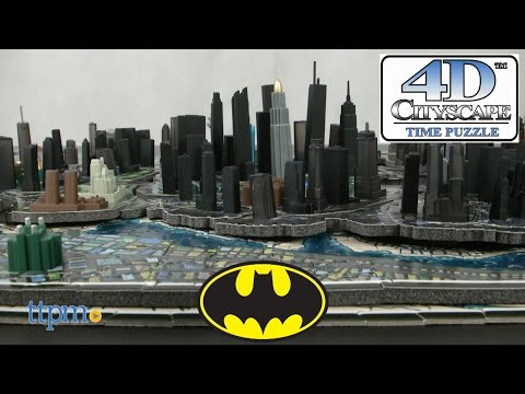 Batman 4D Puzzle of Gotham City from 4D Cityscape Inc.