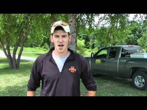 Iowa State Graduate Talks On Iowa DNR Fisheries And Wildlife As A Career