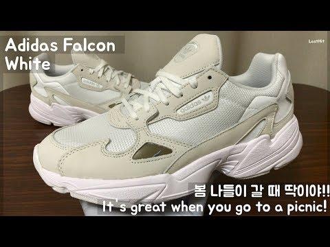 [ENG] 아디다스 팔콘 화이트, Adidas Falcon White