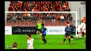 (Gameplay-Wii) PES 2013 Online Inter vs Bayern