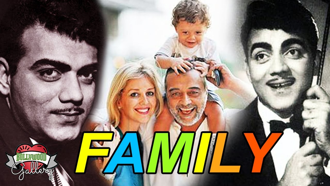 Download Mehmood Family with Parents, Wife, Son, Brother, Sister, Career, Death and Biography
