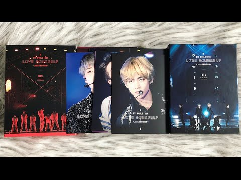 [UNBOXING] BTS WORLD TOUR LOVE YOURSELF | Japan Edition | Limited Edition Both DVD & BLU-RAY