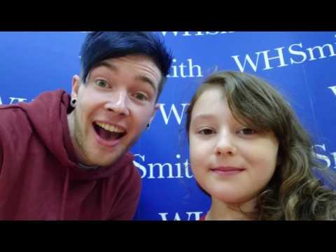Meeting DanTDM at his book signing Birmingham 2016
