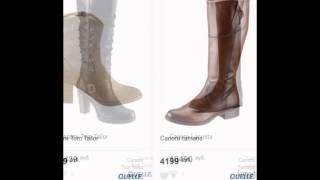 Женские сапоги marco bonne бордовые купить