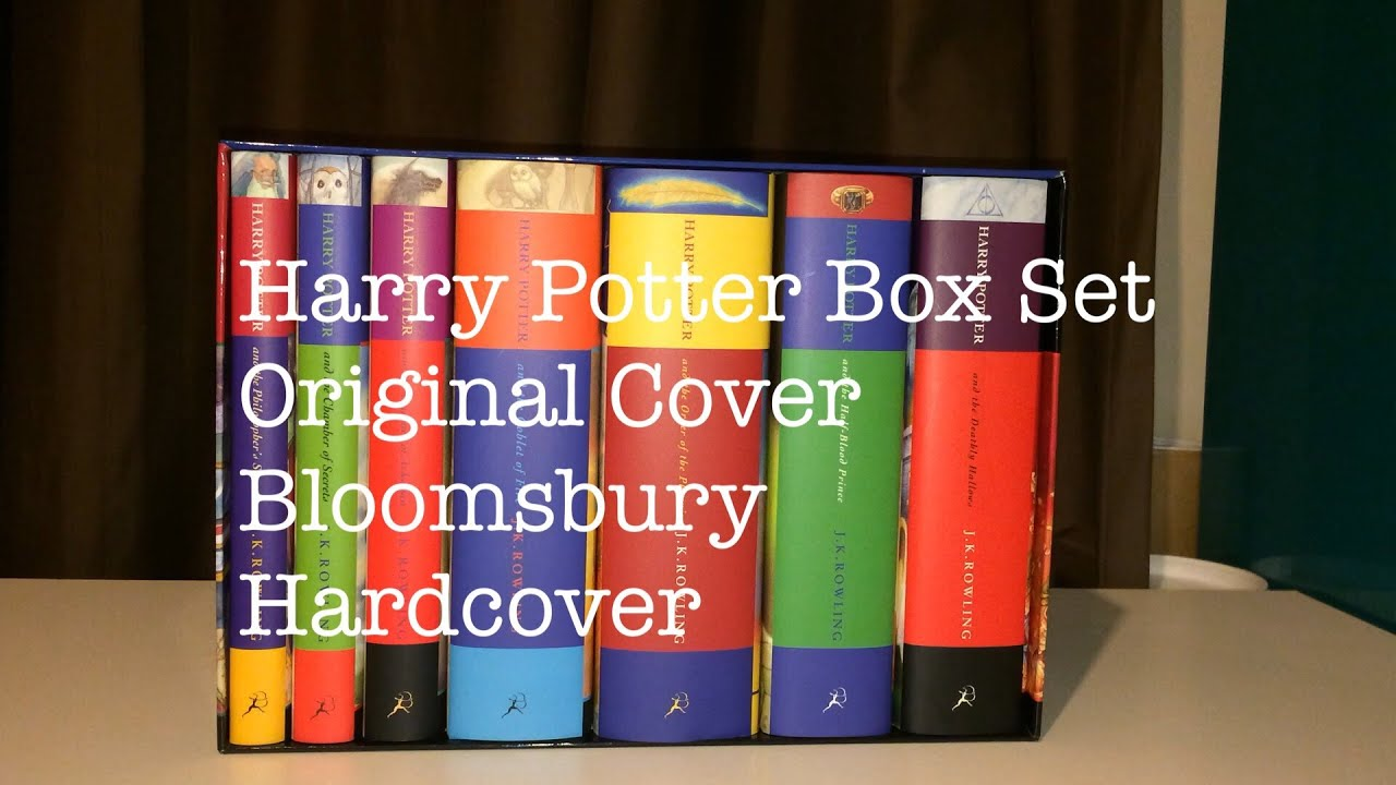 Harry Potter Book Set Original Covers ~ Harry potter book box set edição brit nica
