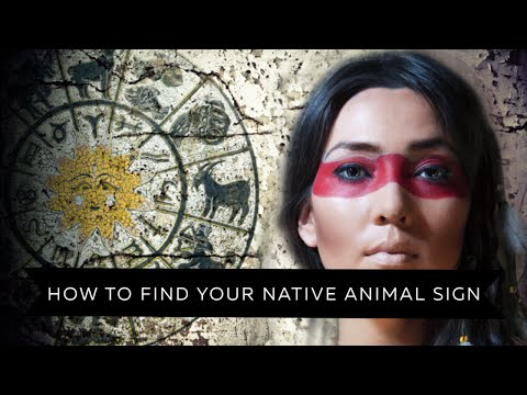 How To Find Your Animal Spirit Guide | THE NATIVE AMERICAN ZODIAC