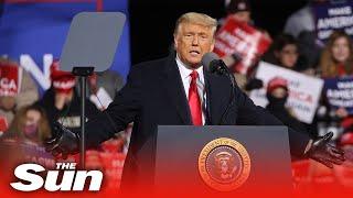 Live: Donald Trump campaigns in Hickory, North Carolina