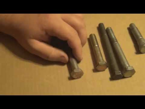 Bolt Size How To Figure out the size you need video