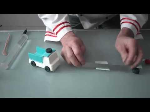 Сахарная мастика для лепки «FLAST» – Быстрый способ сделать машинку