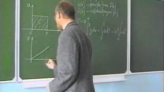 Лекция 9. Первообразная и определенный интеграл.