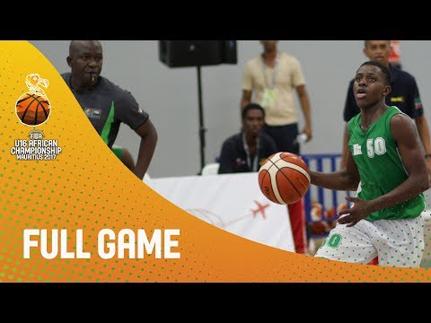 Algeria v Madagascar - Full Game - FIBA U16 African Champion