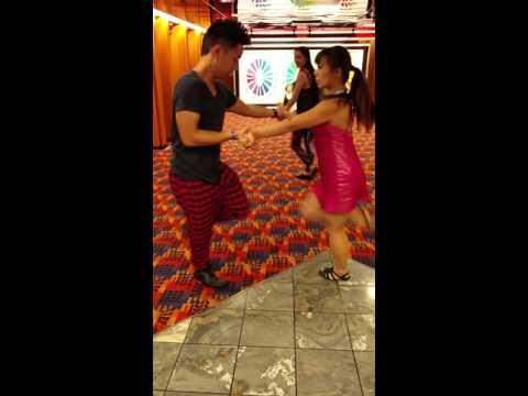 Aventura Cruise 2015 Phillip Lee and Fiona Su
