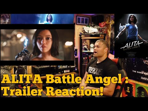 #Alita #AlitaTrailer #Reaction                ALITA Battle Angel : Trailer Reaction!