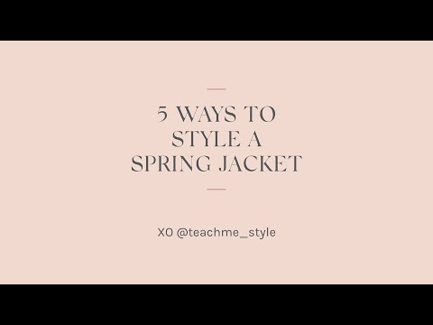 Spring Jacket Holly Horvath