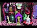 MONSTER HIGH SECRET CREEPERS CRITTERS REVIEW VIDEO!!!